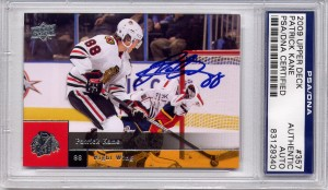 Patrick Kane PSA/DNA Certified Authentic Autograph