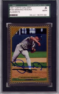 Mariano Rivera SGC Certified Authentic Autograph