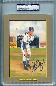 Sandy Koufax PSA/DNA Certified Authentic Autograph - Perez-Steele Great Moments